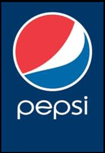 Pepsi logo ideally suited for screen printing