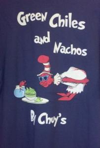 Chuy's Plano tshirts