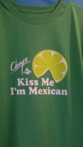 Chuy's Mexican restaurant custom tshirts