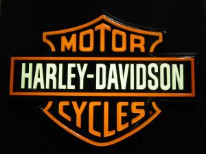 harley Davidson logo memorable