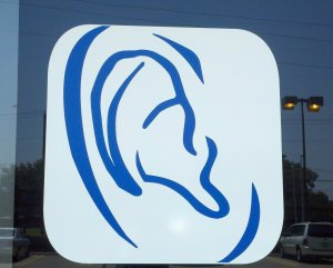 graphic design of ear
