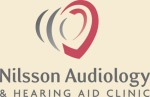 audiology logo for hearing aid clinic